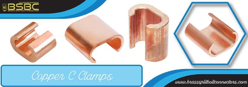 Copper C Clamps