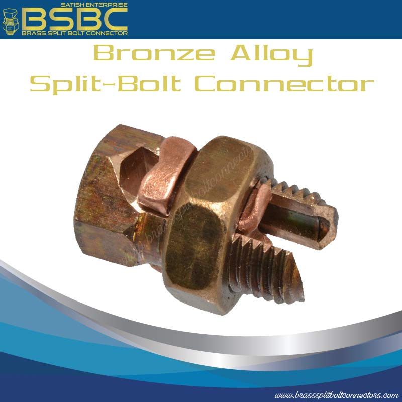Bronze Alloy Split Bolt Connector