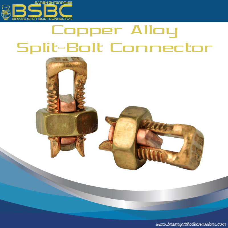 Copper Alloy Split Bolt Connector