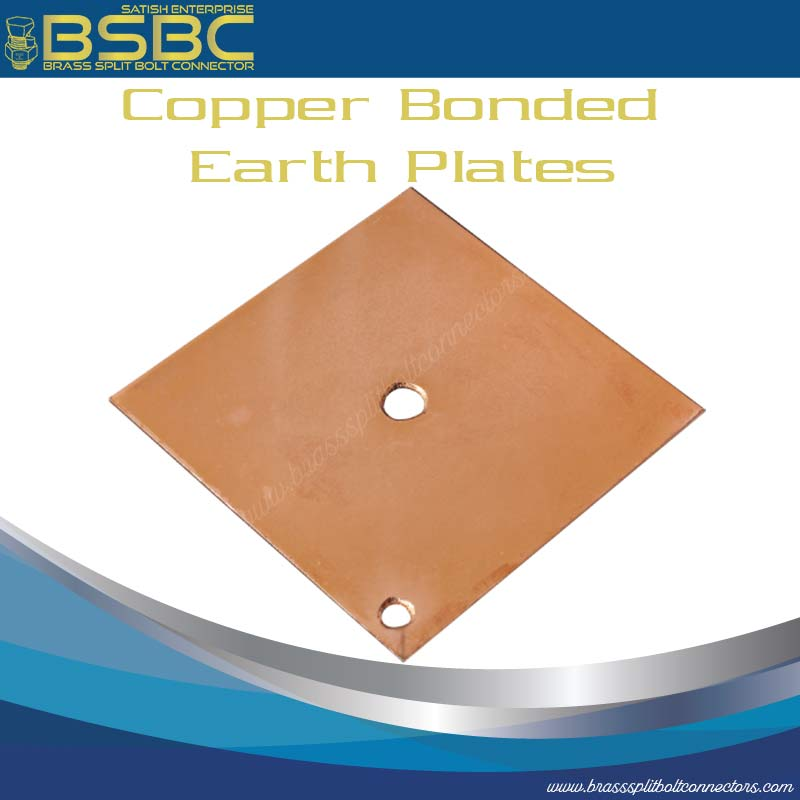 Copper Bonded Earth Plate