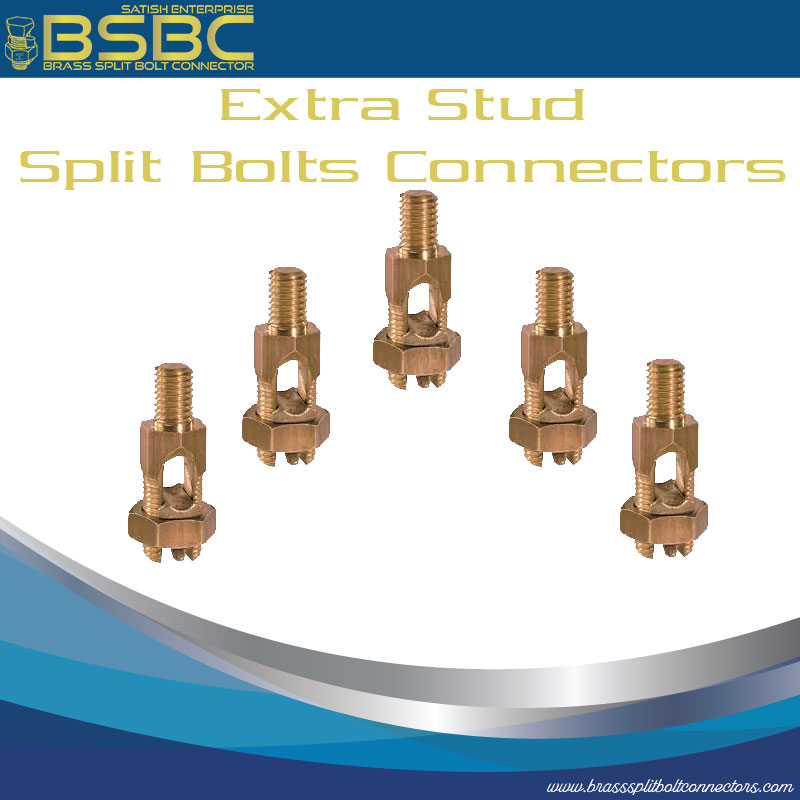 Extra Stud Split Bolts Connectors