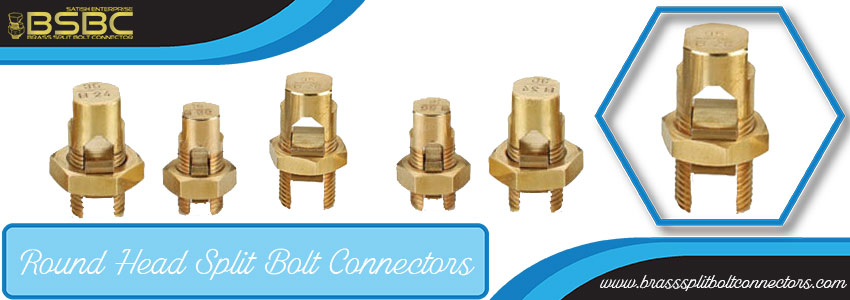 Round Head Split Bolt Connectors