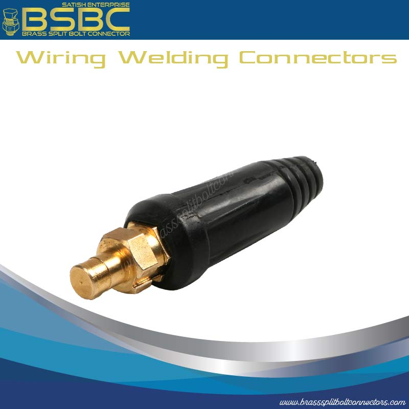 Wiring welding connectors